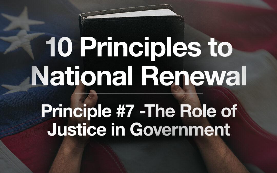 God's Plan for a Blessed Nation: Principle #7: How God's Plan for Justice Works